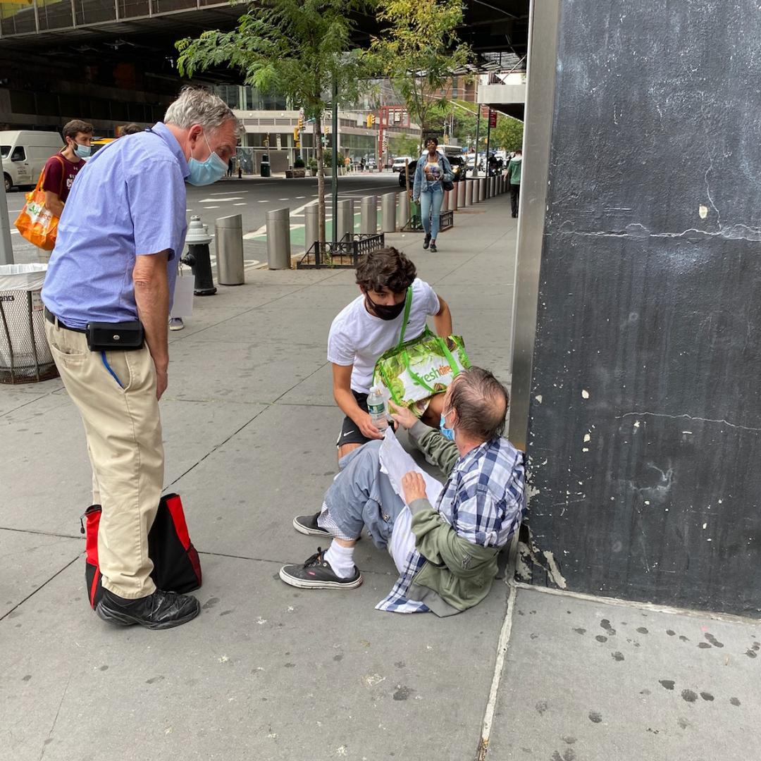 Catholic Mission NYC LAMP Catholic Ministries NYC Catholic Ministry working with Homeless